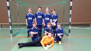 Jungen-Fußballmannschaft